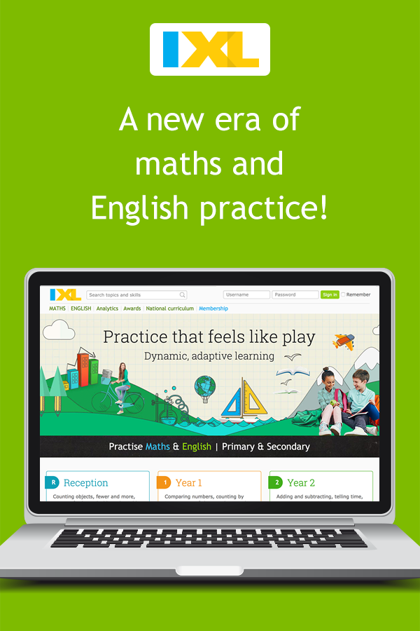IXL   Maths and English Practice