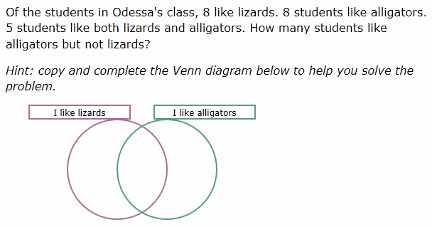 Solve Venn Diagram Problems Wakes Having